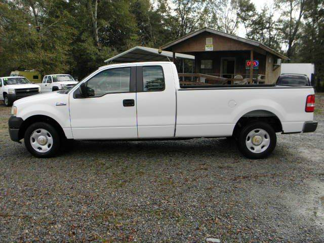 2007 ford f 150 xl 4dr supercab styleside 8 ft lb w heavy duty payload package in ponchatoula. Black Bedroom Furniture Sets. Home Design Ideas