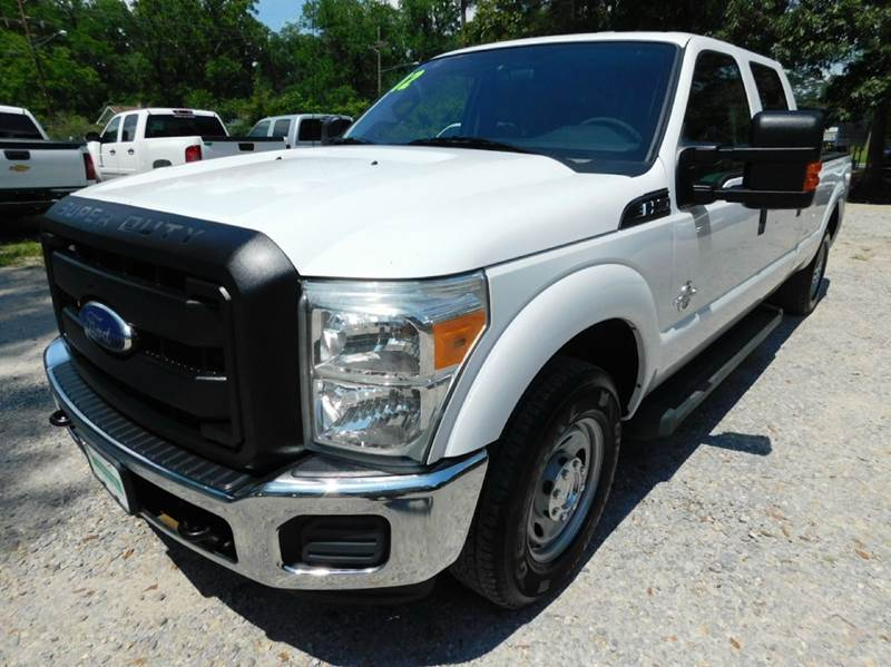 2012 Ford F-350 Super Duty 4x2 XL 4dr Crew Cab 8 ft. LB SRW Pickup - Ponchatoula LA