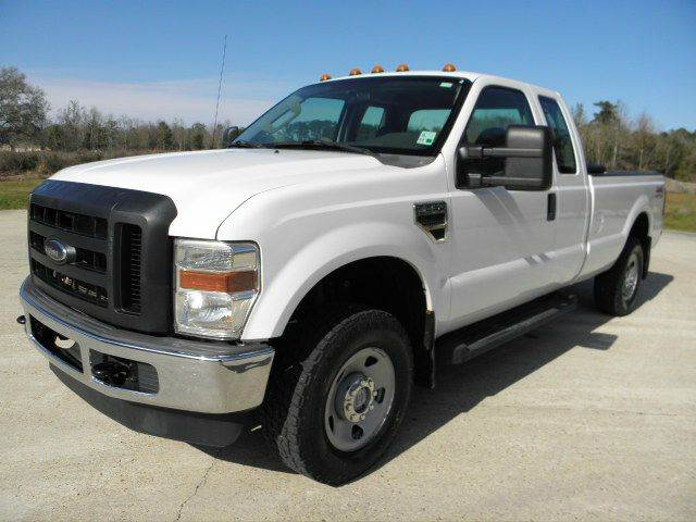 2009 ford f 250 super duty xl 4x4 4dr supercab 8 ft lb pickup in ponchatoula la commercial. Black Bedroom Furniture Sets. Home Design Ideas