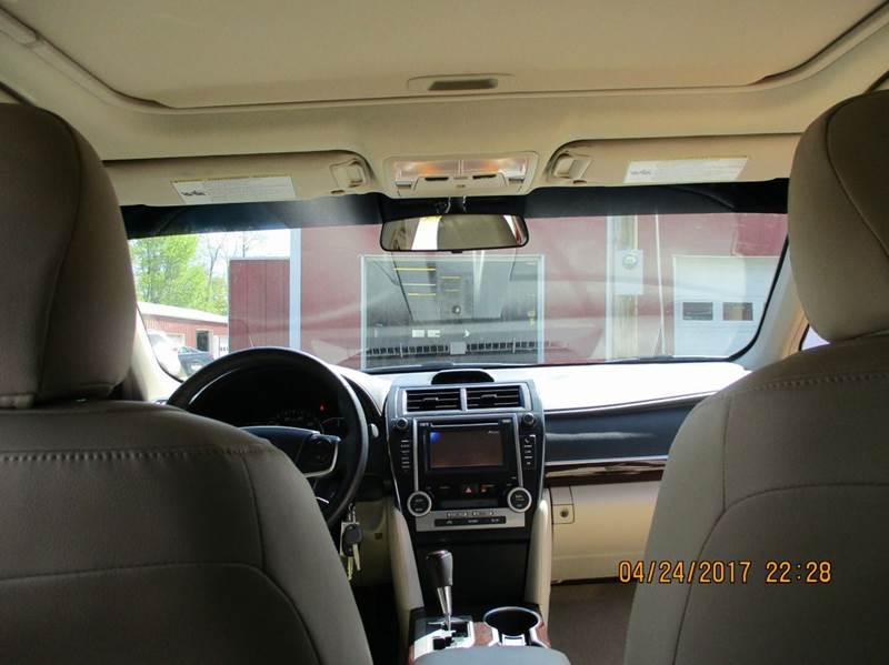 2014 Toyota Camry XLE 4dr Sedan - Brookville IN