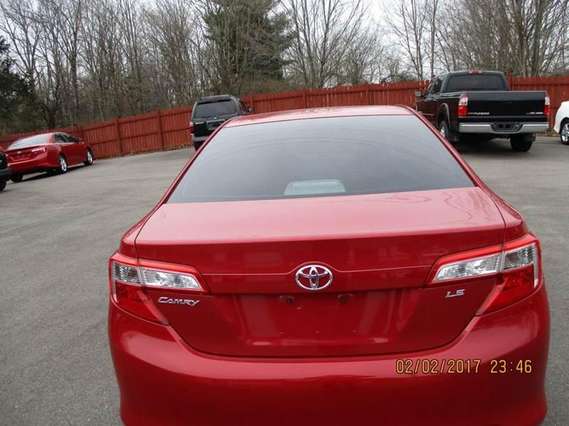 2013 Toyota Camry LE 4dr Sedan - Brookville IN