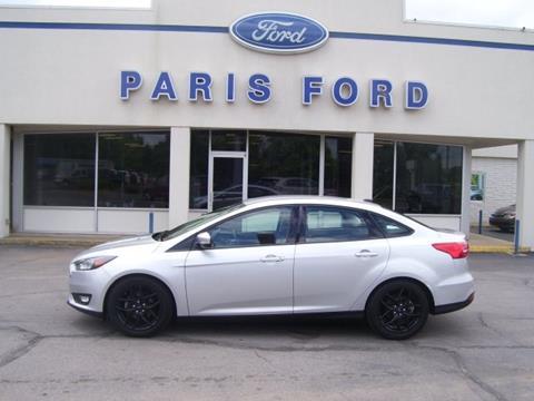 2016 Ford Focus for sale in Paris AR