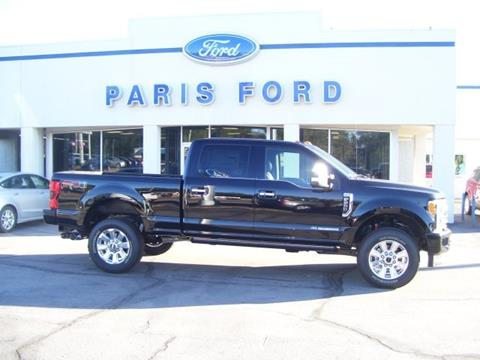 2017 Ford F-250 Super Duty for sale in Paris AR