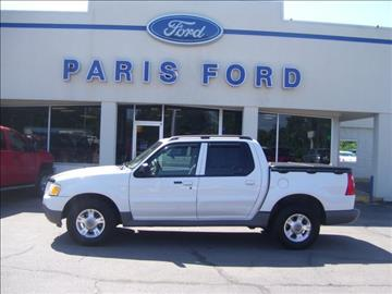 2003 Ford Explorer Sport Trac for sale in Paris, AR