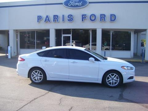 2016 Ford Fusion for sale in Paris AR