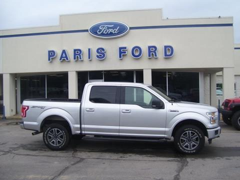 2016 Ford F-150 for sale in Paris, AR