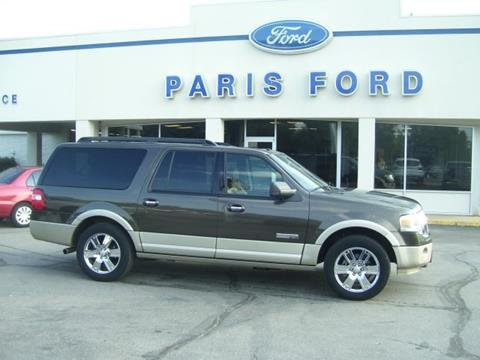2008 Ford Expedition EL for sale in Paris AR