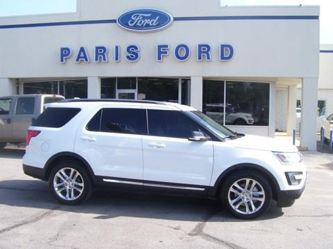 2016 Ford Explorer for sale in Paris AR