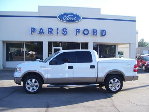 2006 Ford F-150 for sale in Paris AR