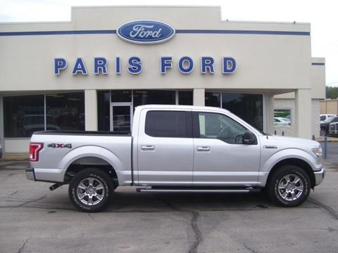 2015 Ford F-150 for sale in Paris AR