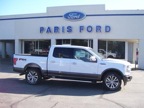 2017 Ford F-150 for sale in Paris AR