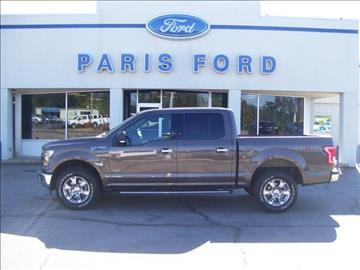 2015 Ford F-150 for sale in Paris, AR