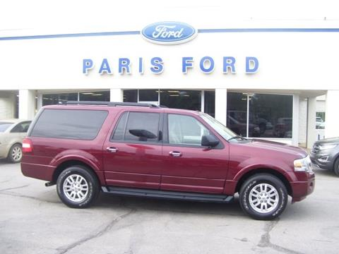 2012 Ford Expedition EL for sale in Paris AR