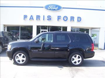 2009 Chevrolet Tahoe for sale in Paris, AR
