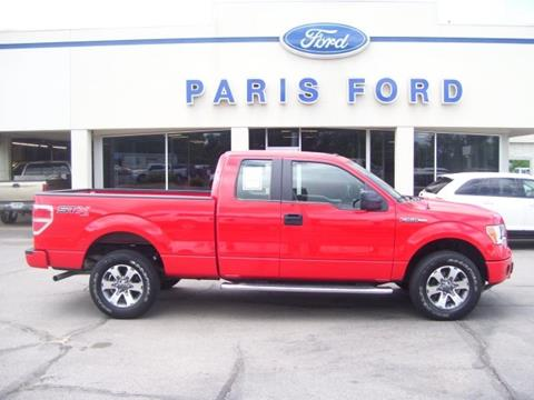 2014 Ford F-150 for sale in Paris AR
