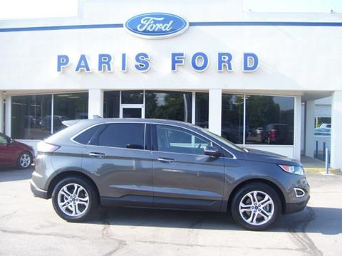 2016 Ford Edge for sale in Paris, AR