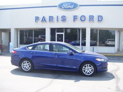 2014 Ford Fusion for sale in Paris AR