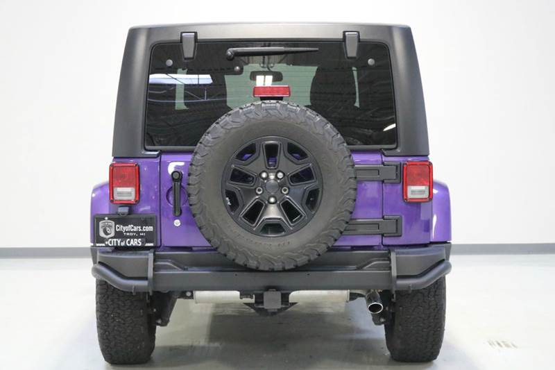 2016 Jeep Wrangler Unlimited Sahara 4x4 4dr Suv In Troy Mi City Of Cars