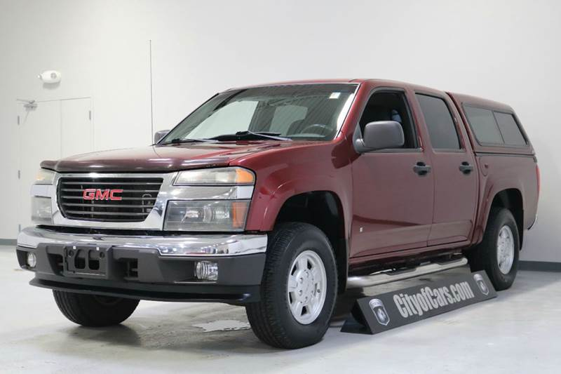 2007 gmc canyon sle 4dr crew cab 4wd sb in troy mi city. Black Bedroom Furniture Sets. Home Design Ideas