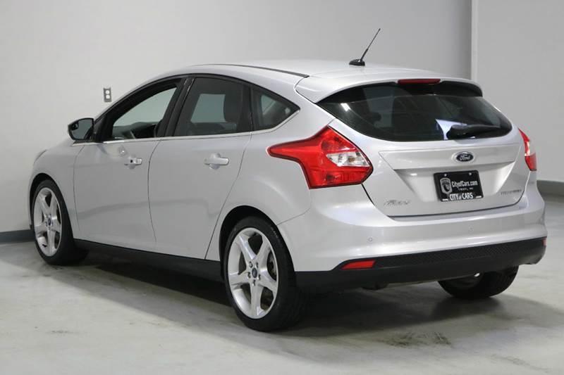 2012 ford focus titanium 4dr hatchback in troy mi city of cars. Black Bedroom Furniture Sets. Home Design Ideas