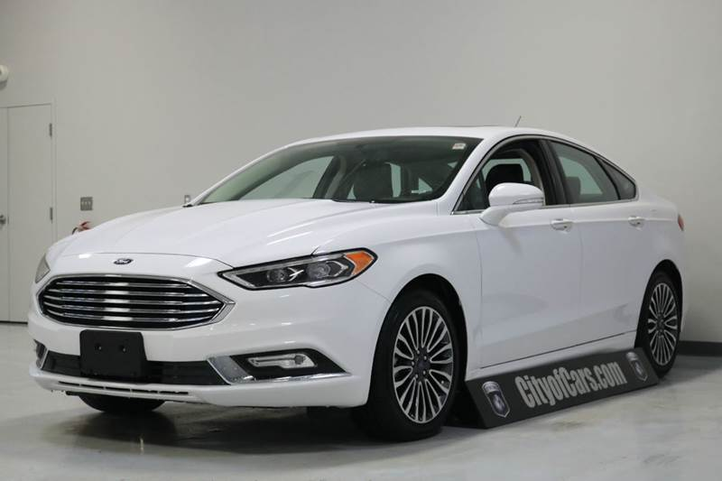 2017 Ford Fusion SE AWD 4dr Sedan