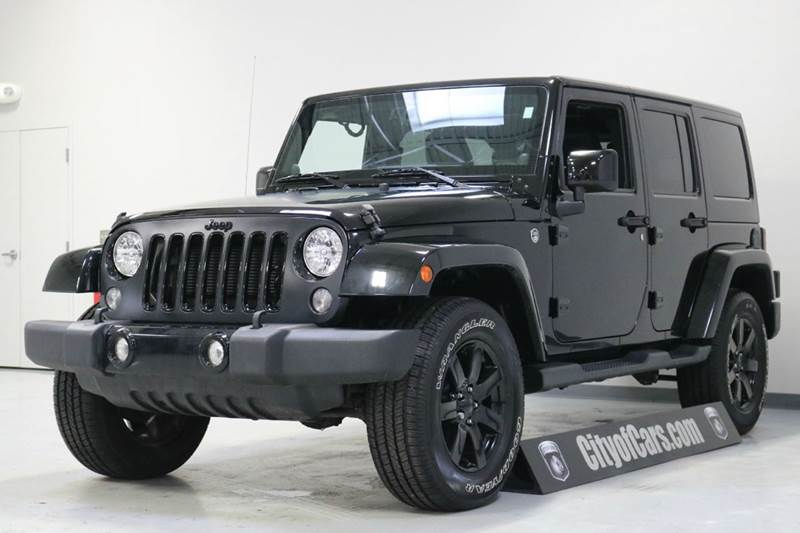 2014 Jeep Wrangler Unlimited Sahara 4x4 4dr SUV