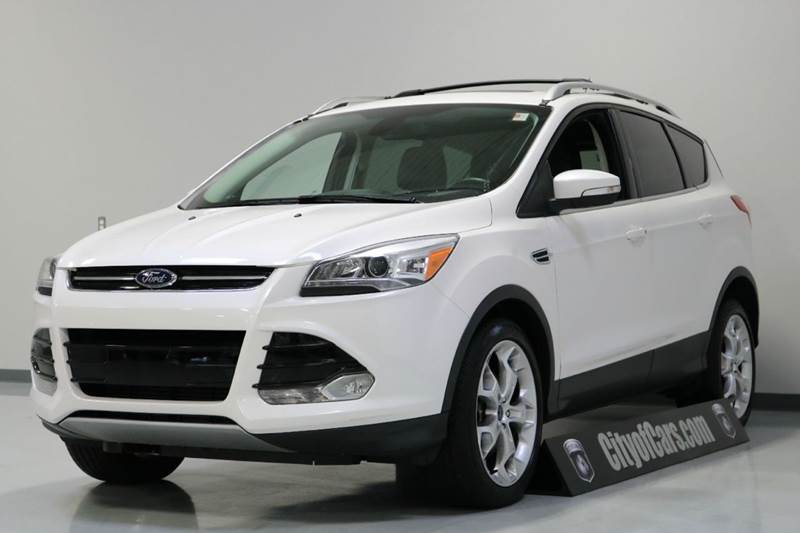 2013 ford escape titanium awd 4dr suv in troy mi city of cars. Black Bedroom Furniture Sets. Home Design Ideas