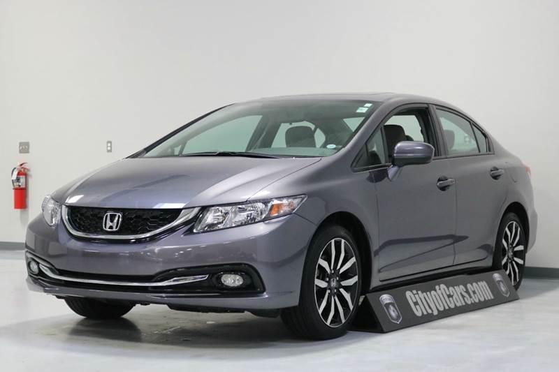 2015 Honda Civic EX-L w/Navi 4dr Sedan w/Navi