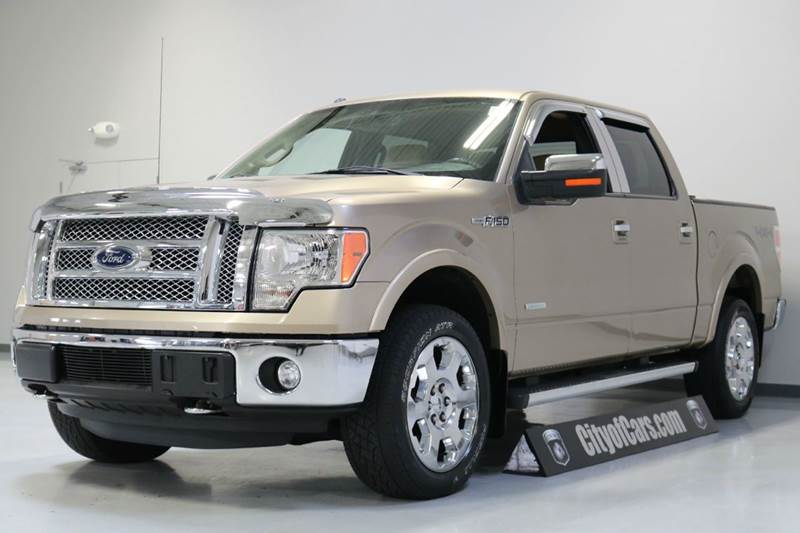 2011 ford f 150 4x4 lariat 4dr supercrew styleside 5 5 ft sb in troy mi city of cars. Black Bedroom Furniture Sets. Home Design Ideas