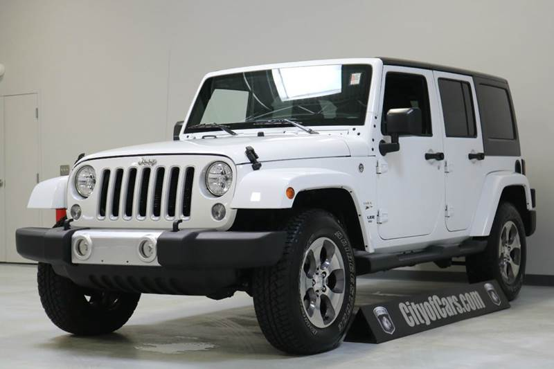 2016 Jeep Wrangler Unlimited Sahara 4x4 4dr SUV