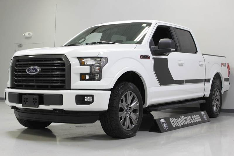 2016 ford f 150 xlt 4x4 4dr supercrew 5 5 ft sb in troy mi city of cars. Black Bedroom Furniture Sets. Home Design Ideas