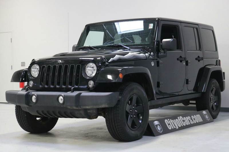 2015 Jeep Wrangler Unlimited X 4x4 4dr SUV
