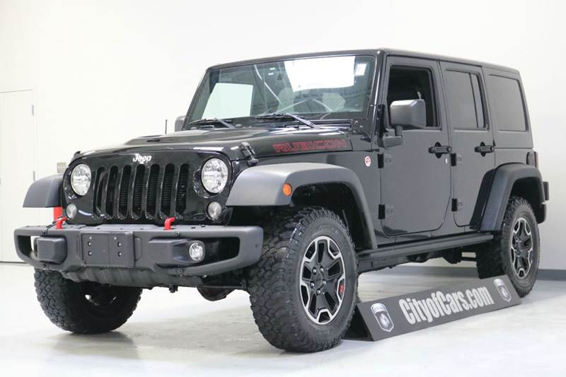 2015 Jeep Wrangler Unlimited Rubicon Hard Rock 4x4 4dr SUV