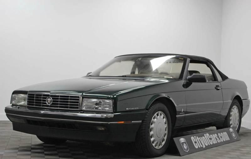 1993 Cadillac Allante Base 2dr Convertible