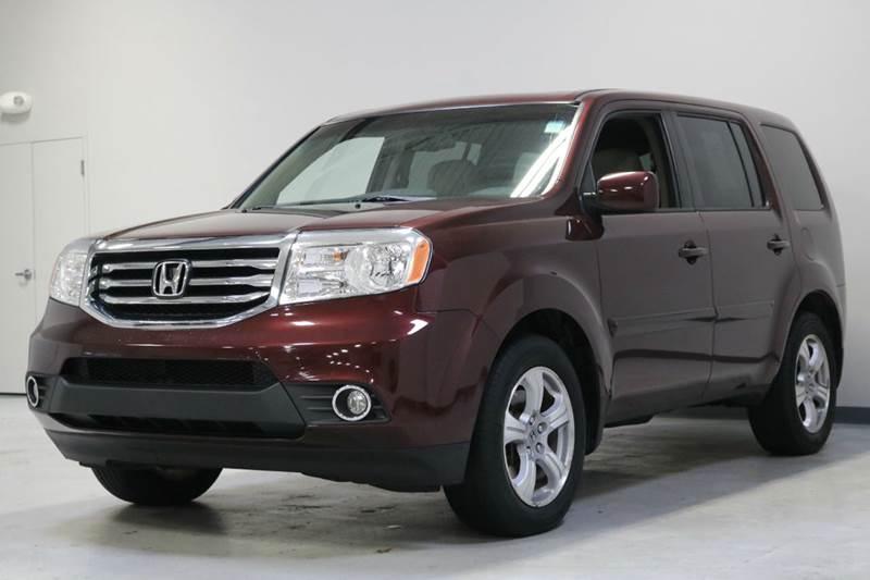 2012 Honda Pilot EX-L 4x4 4dr SUV