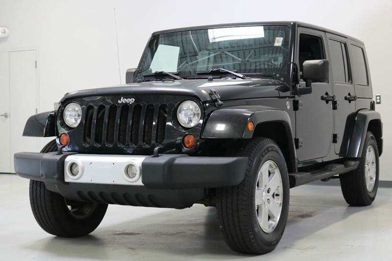 2009 Jeep Wrangler Unlimited Sahara 4x4 4dr SUV In Troy MI  City