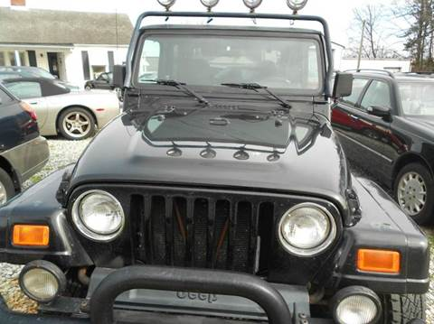 used 2000 jeep wrangler for sale. Black Bedroom Furniture Sets. Home Design Ideas