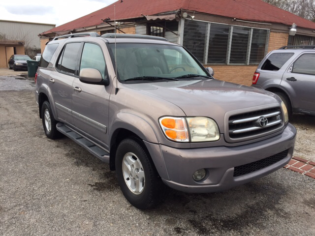 2002 toyota sequoia limited 2wd 4dr suv in memphis tn. Black Bedroom Furniture Sets. Home Design Ideas
