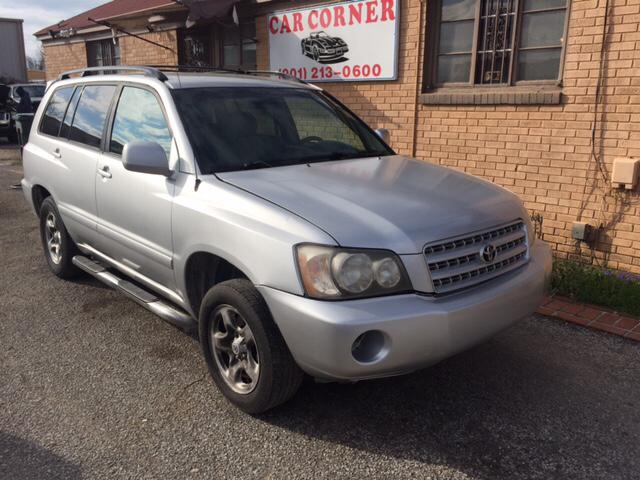 Toyota Highlander For Sale Carsforsalecom - 2001 highlander