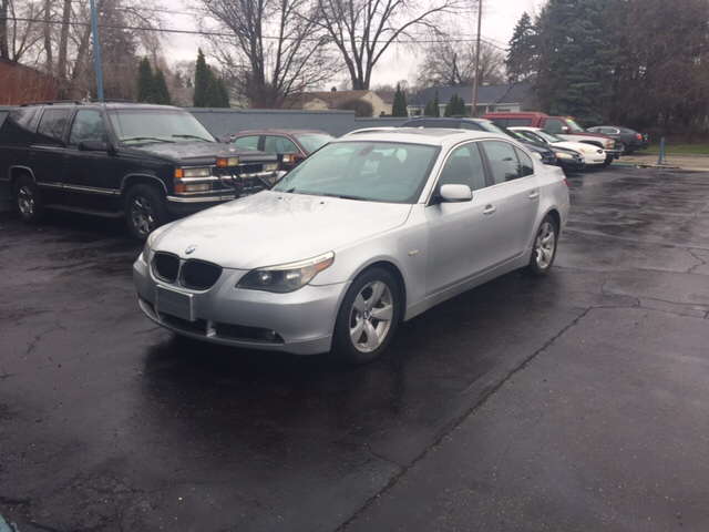 2005 Bmw 5 Series car for sale in Detroit