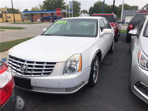 2007 Cadillac DTS for sale in Garden City, MI