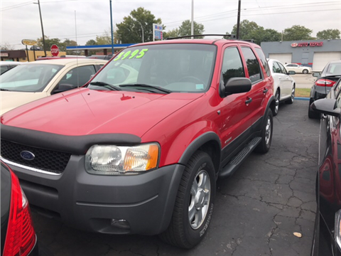 2002 Ford Escape for sale in Garden City, MI