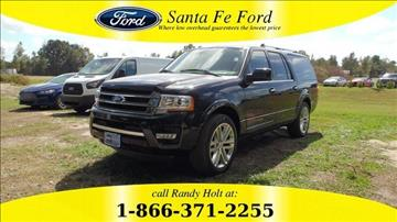 2016 Ford Expedition El Limited 4x2 Limited 4dr Suv For Sale In  2015 Ford Expedition EL For Sale Florida - Carsforsale.com