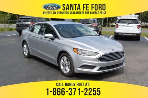 2018 Ford Fusion for sale in Gainesville, FL