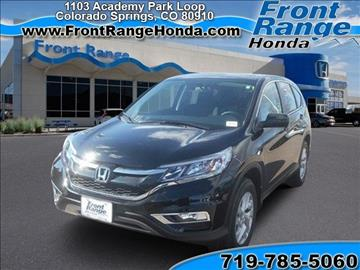 2016 honda cr v for sale in modesto ca for Front range honda colorado springs co