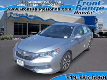 hybrid electric cars for sale colorado springs co
