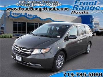 Minivans for sale colorado springs co for Front range honda colorado springs co