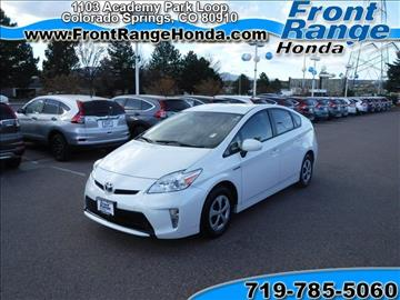 Hybrid electric cars for sale colorado springs co for Front range honda colorado springs co