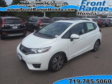 Honda fit for sale colorado springs co for Front range honda colorado springs co