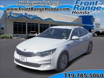 Kia Optima For Sale Colorado Springs Co Carsforsale Com